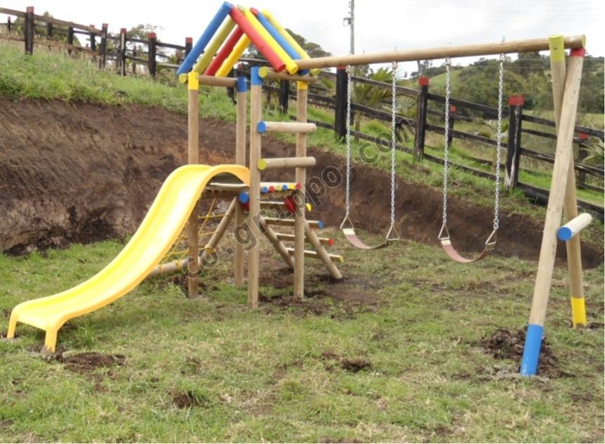 Parques infantiles en bogota for Parque infantil jardin