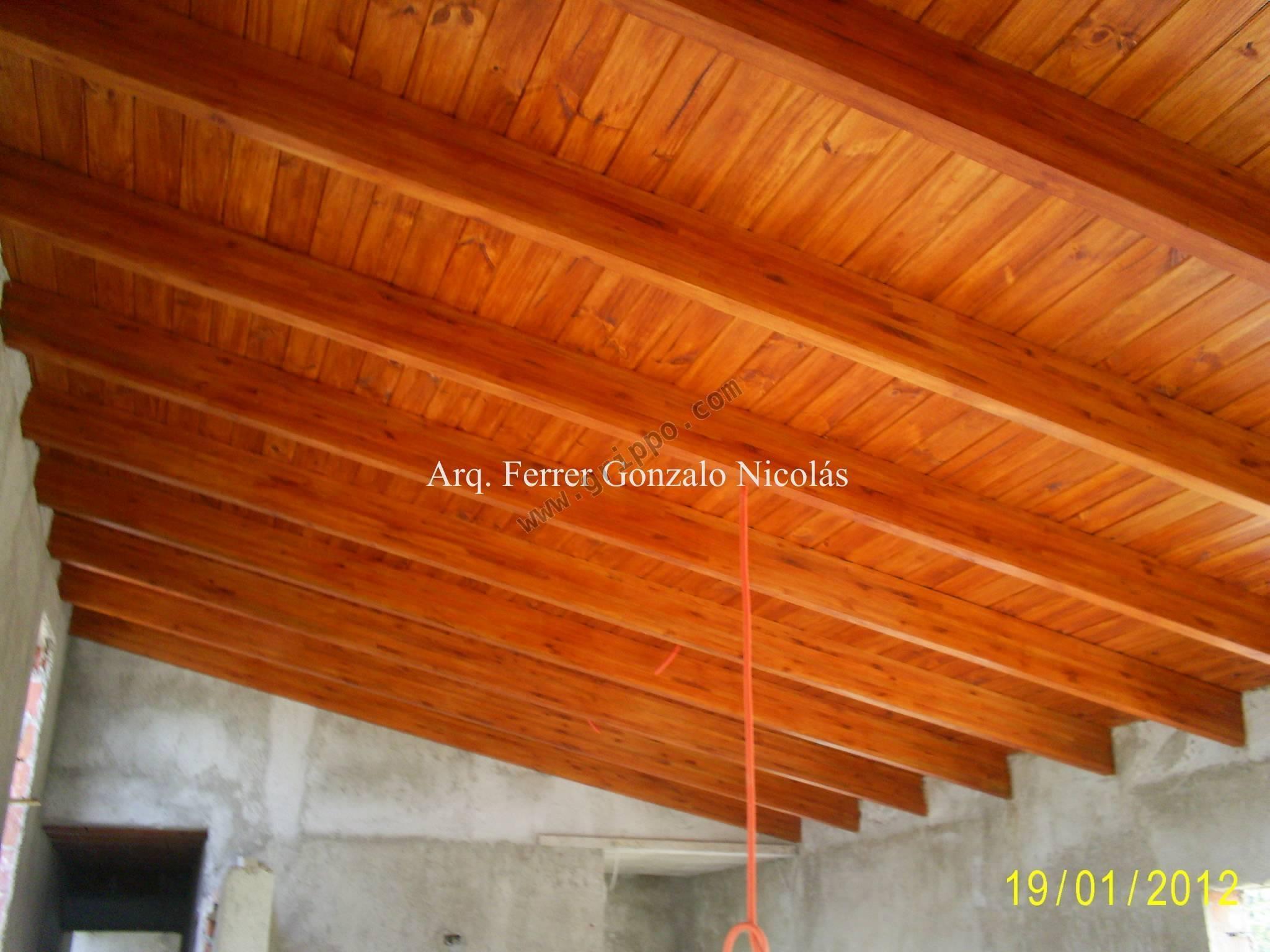 Arquitecto especialista en techos de madera c rdoba for Techos de galerias economicos