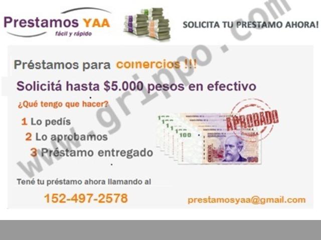 Credito para Comerciantes Pago Diario !!! Cobradores a Domicilio ! Te pr