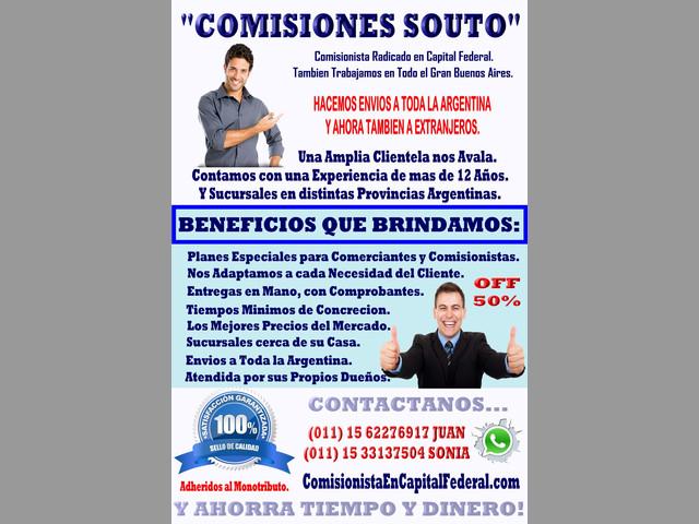 Comisionista en Capital Federal