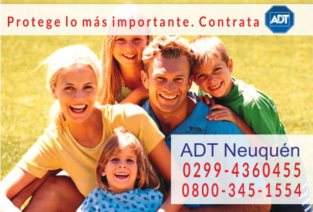 Alarmas ADT en Neuquén  0299-4360455