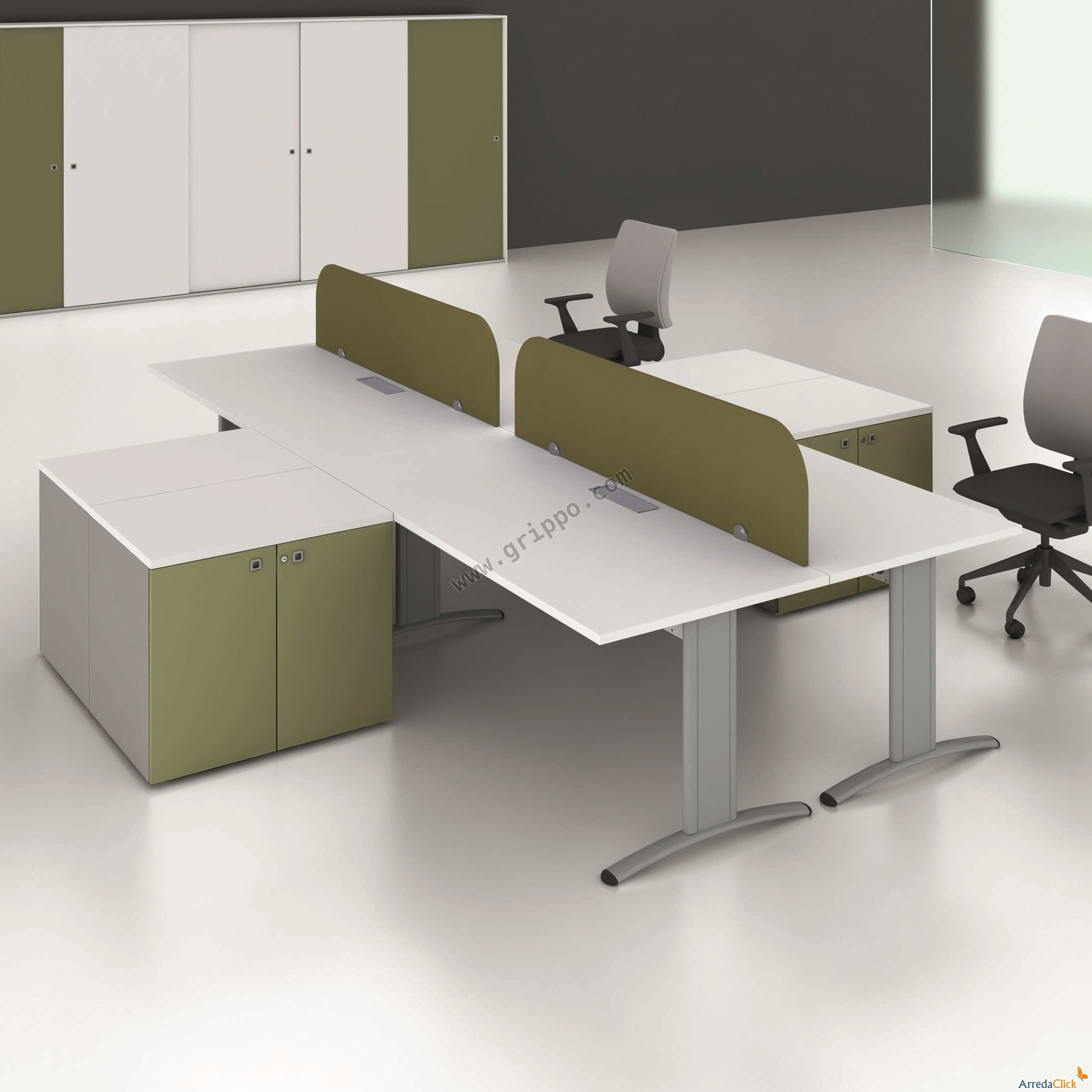 Muebles de oficina sillas sillones complementos dise o for Sillones para oficina