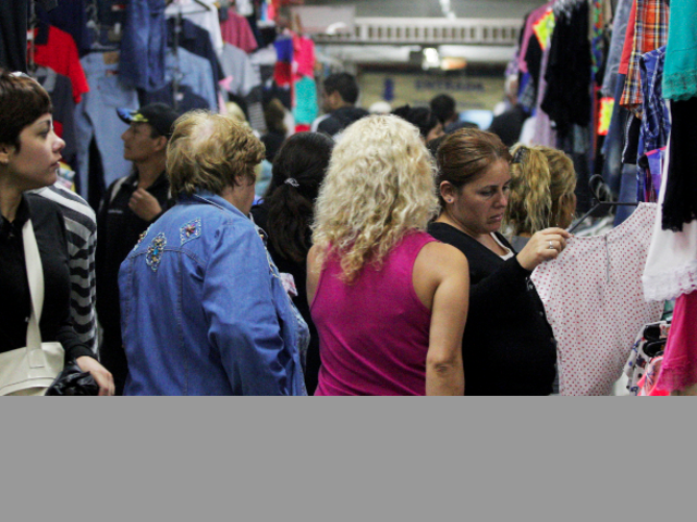 Fashionistas en la Feria de la Salada