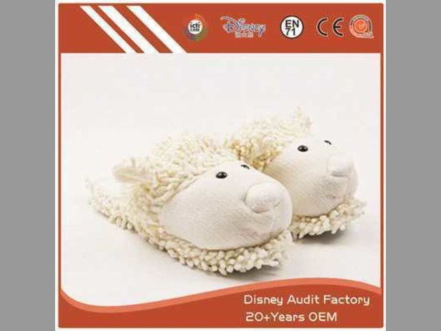 Fuzzy Sheep Slippers