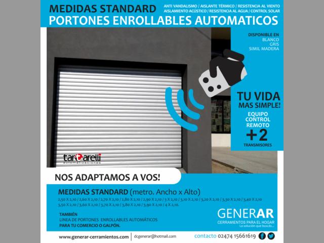 PORTONES AUTOMATICOS ENROLLABLES