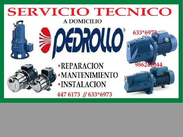 SERVICIO TECNICO BOMBA DE AGUA PEDROLLO 4476173