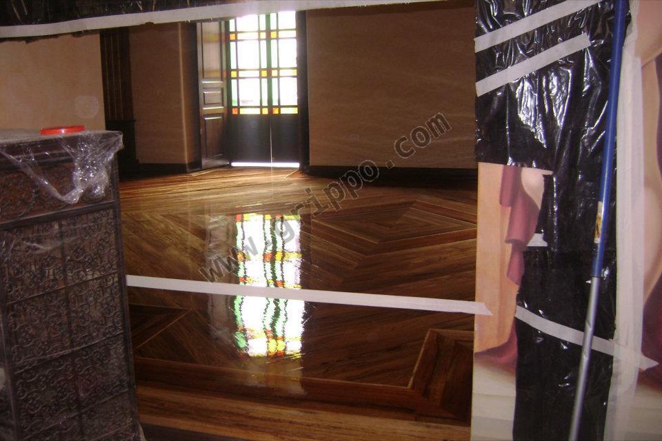 Pulido lijado y lacado de pisos de madera - Lacado de madera ...