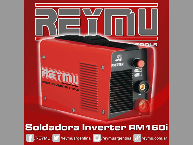 Venta de Soldadora Inverter RM160i. Venta y distribución en todo el país