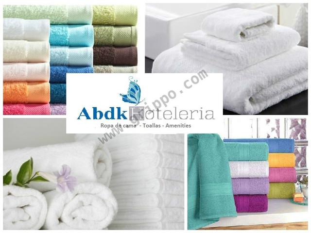 Toallas blancas, toallones, toallas color para spa y Hoteleria en Peru