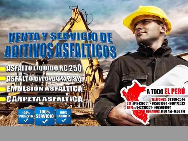 Cofra Eirl. Asfalto Rc 250 - Impermeabilizantes - Cemento asfaltico