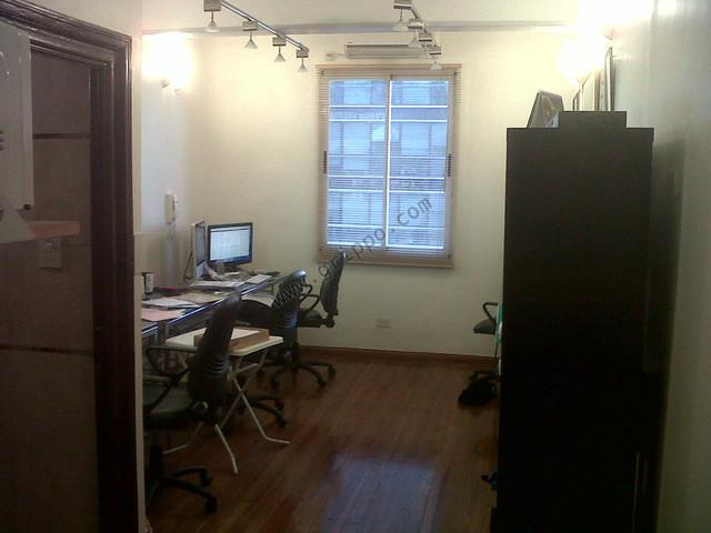 Vista interior oficina 1 ambiente microcentro