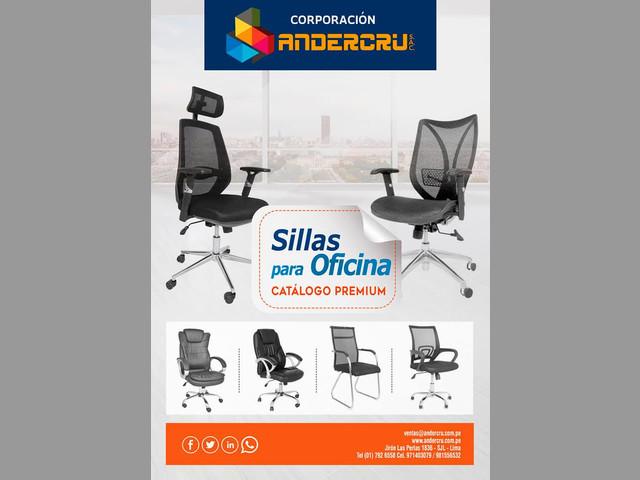 SILLAS PARA LA OFICINA Y  EL HOGAR- ANDERCRU SAC