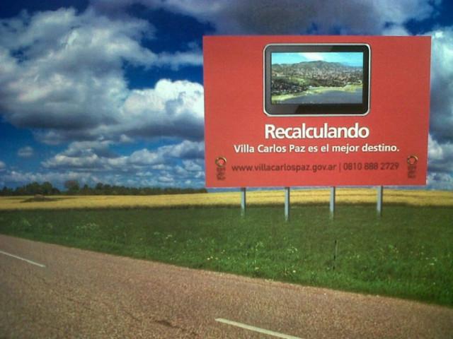 Publicidad en Ruta 8