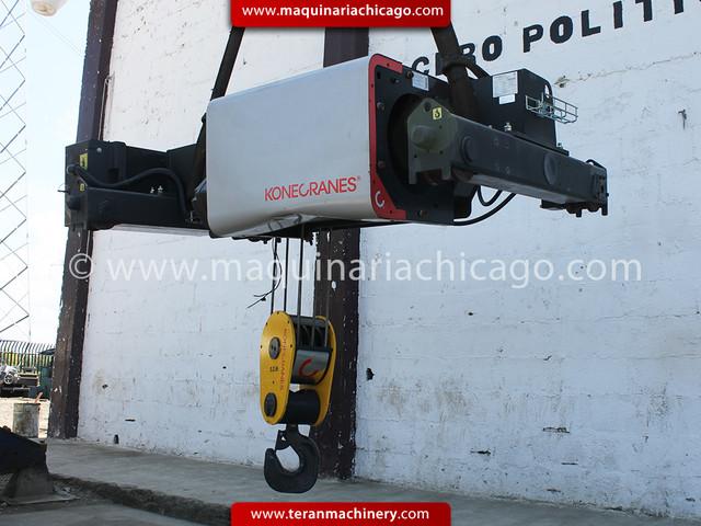 Polipasto KONECRANE 12.5 ton Nuevo