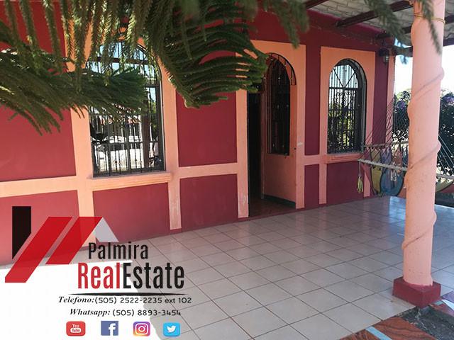 Venta de casa  nindiri-nicaragua