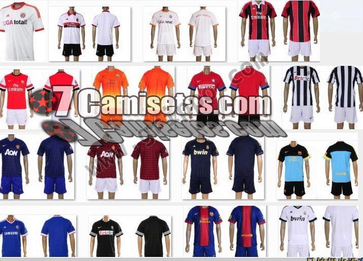 camisetas de futbol por mayor 21e5d687fc2ce