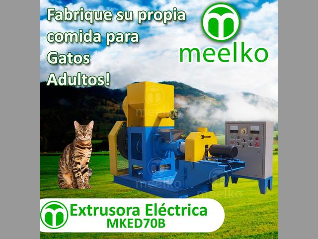 Extrusora Meelko para pellets alimentación perros y gatos 180-200kg-h 18