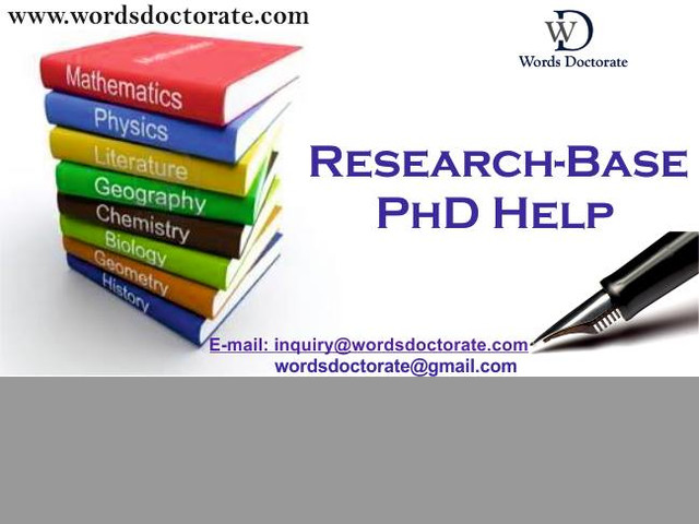 PhD Thesis Writing Services in Hyderabad