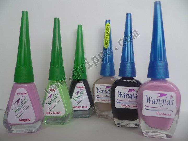 Produccion y Comercializacion de Cosmeticos Wanglas para su cuidado uñas