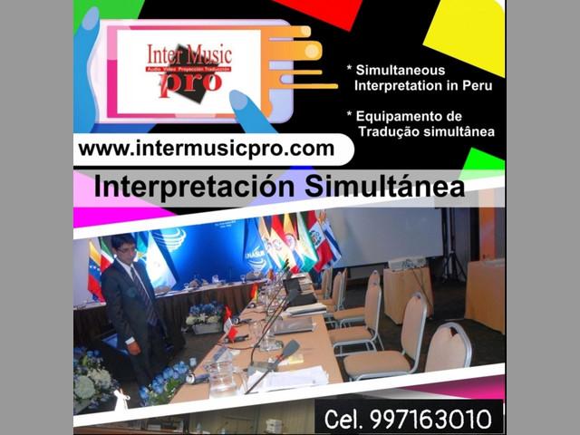 Interpretación para eventos Perú