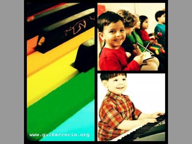 Clases y Cursos de Iniciación Musical para niños. Génesys