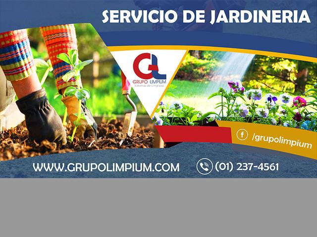 Servicio de jardineria, jardineria, servicios complementarios, limpieza