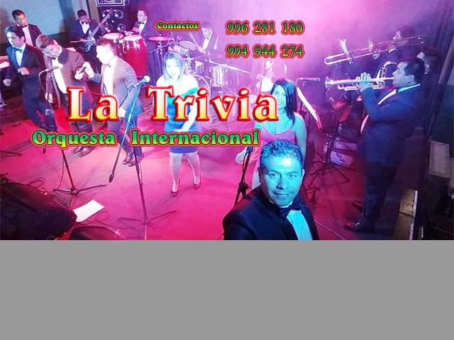 Orquesta para fiestas Matrimonios Orquesta Show LA TRIVIA Orquesta