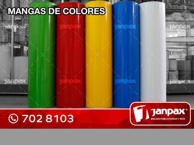 Mangas De Plastico Reversibles -  JANPAX