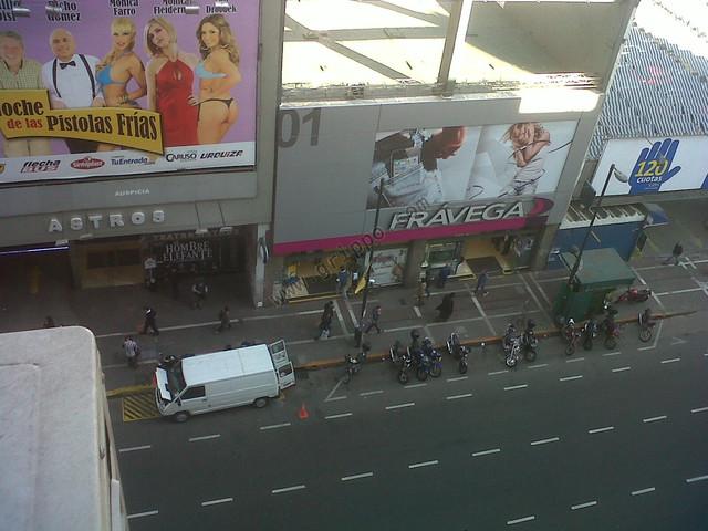 Vista desde la ventana frente Esmeralda