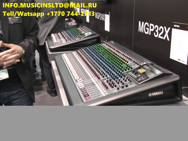 Vende Yamaha M7CL-48ES, MGP32X, Korg Kronos, Roland Fantom G8, Motif XF8