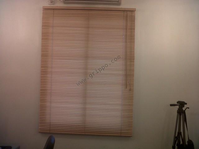 Persiana americana de madera