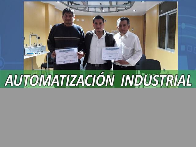 CURSO AUTOMATIZACION E INSTRUMENTACION INDUSTRIAL