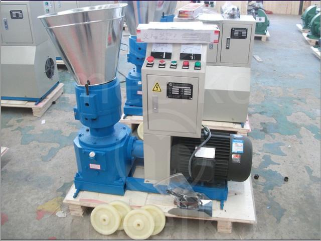 Maquina para plantas de pellets