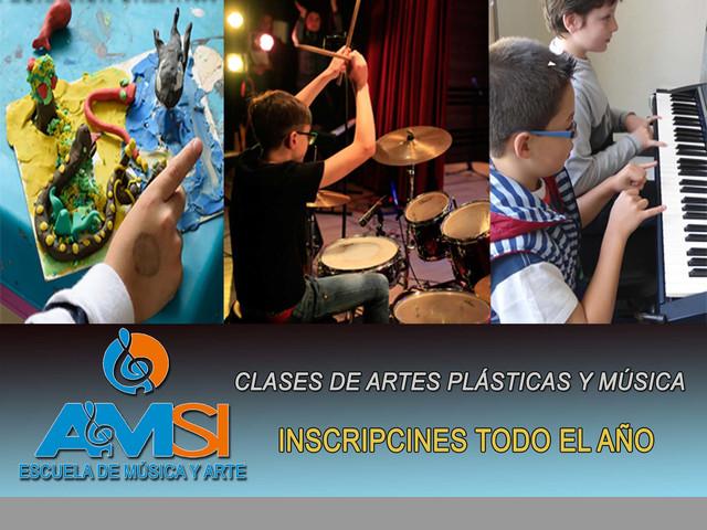CLASES DE MÚSICA PARA EL TIEMPO LIBRE - Todos los instrumentos-
