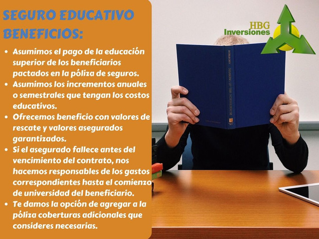 SEGURO EDUCATIVO DE ''HBG INVERSIONES''