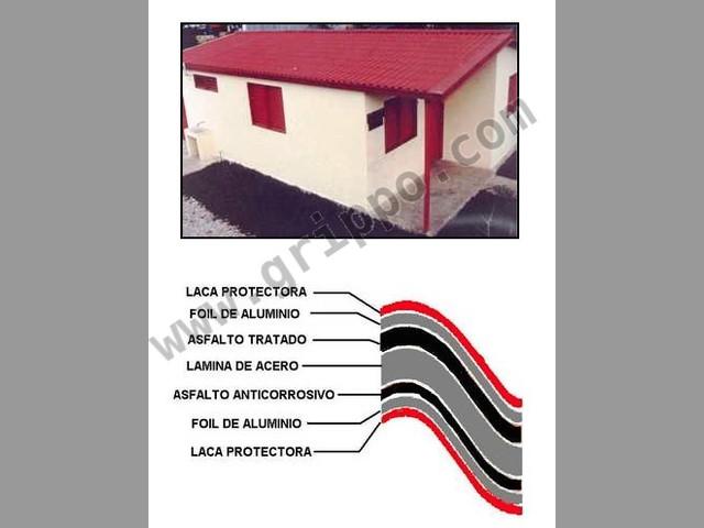 Laminas termoacusticas para techos