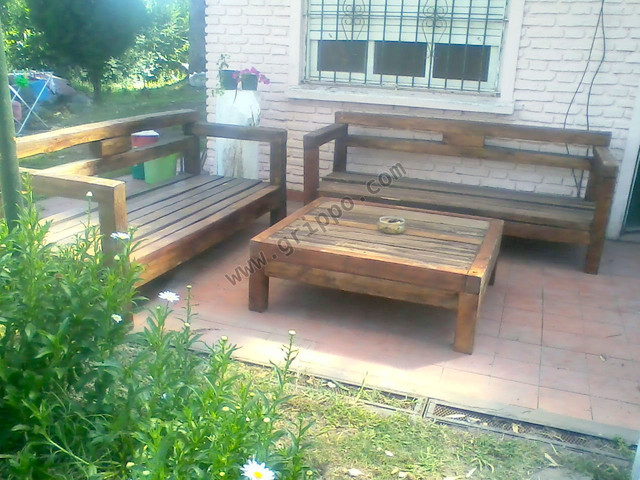 muebles rusticos en madera dura para exterior e interior - photo#47
