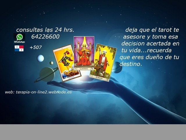 LECTURA DEL TAROT  ON-LINE