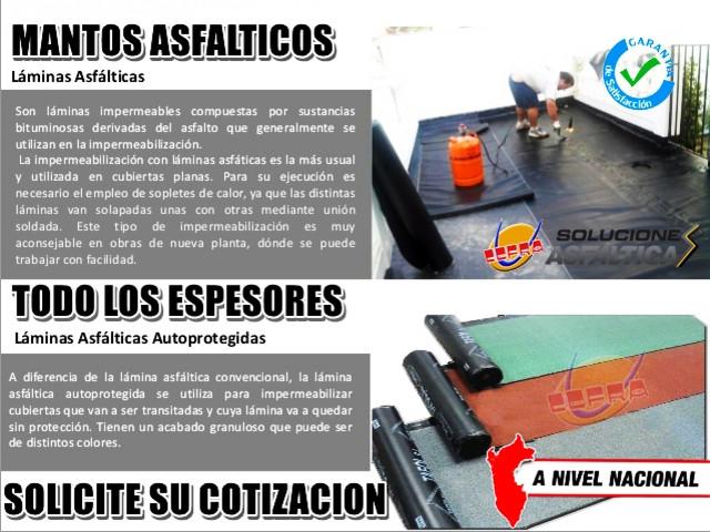 LLEGO LA SOLUCION PARA FILTRACIONE !! MANTOS ASFALTICOS TU MEJOR OPCION