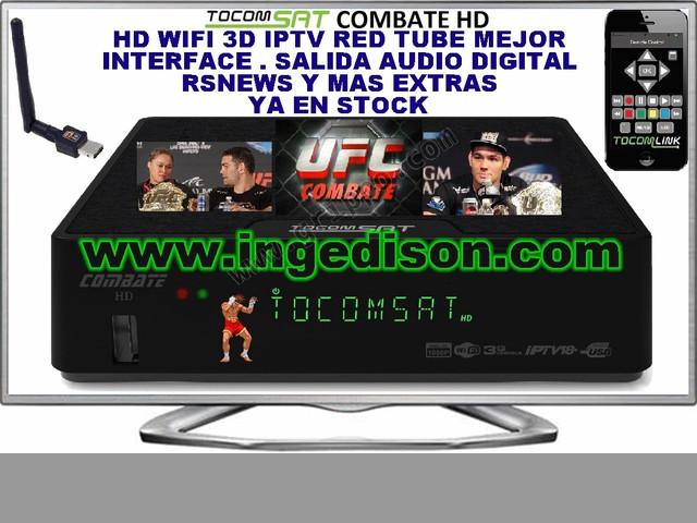 TOCOMSAT COMBATE HD IPTV DLNA SKS IKS EN ECUADOR