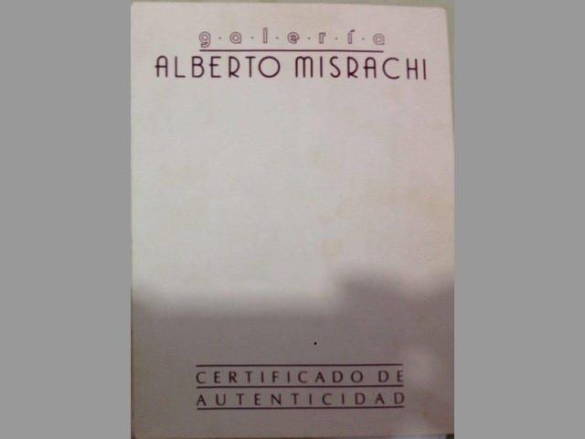 Arnold Belkin Jinete Fondo Rojo Galeria Alberto Misrachi