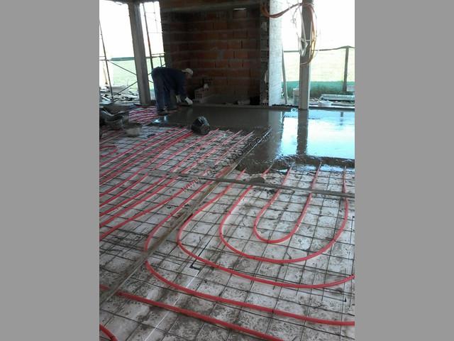 Piso radiante sistema de calefaccin por piso radiante - Calefaccion por hilo radiante ...