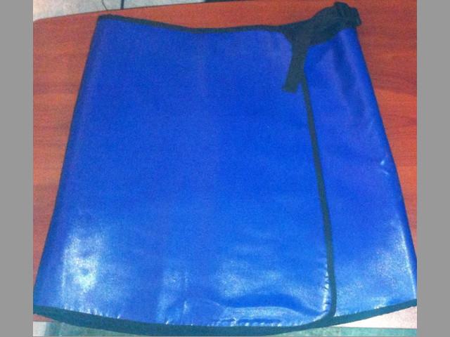 Chaleco y falda emplomados para hemodinamia