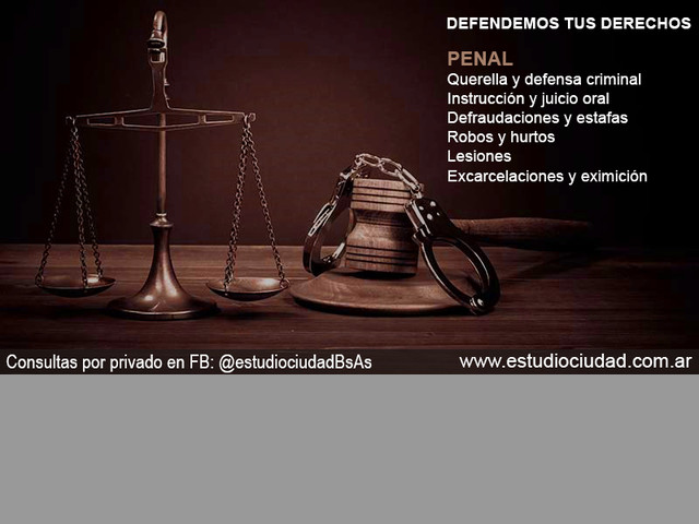 Estudio juridíco penalista