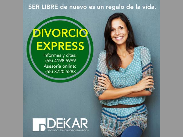 DIVORCIO EXPRESS ECONÓMICO CDMX, DISTRITO FEDERAL