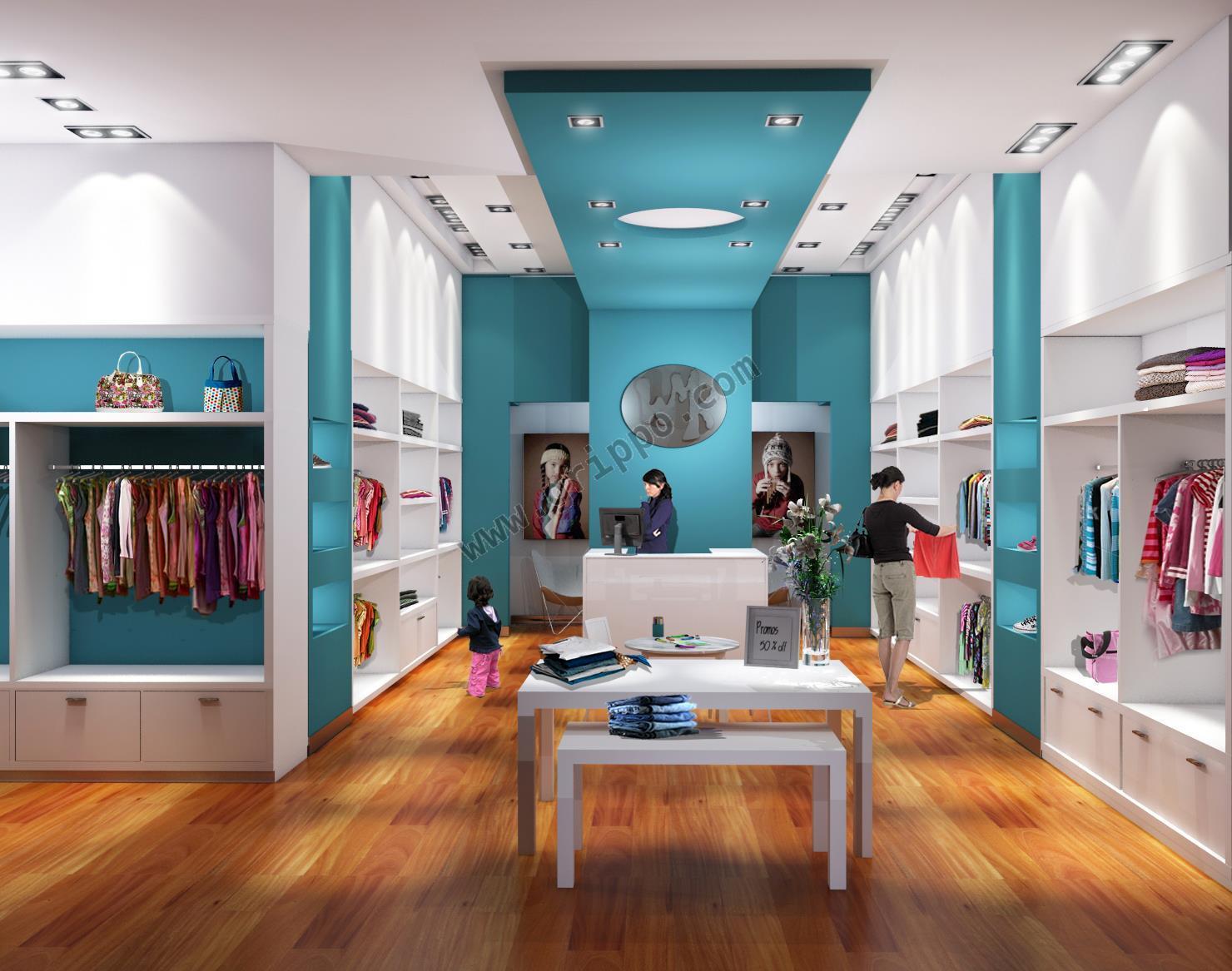 Dise o de locales comerciales y dise o de vidrieras y fachadas for Decoracion de interiores locales de ropa