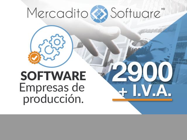 Software control de produccion y Inventarios