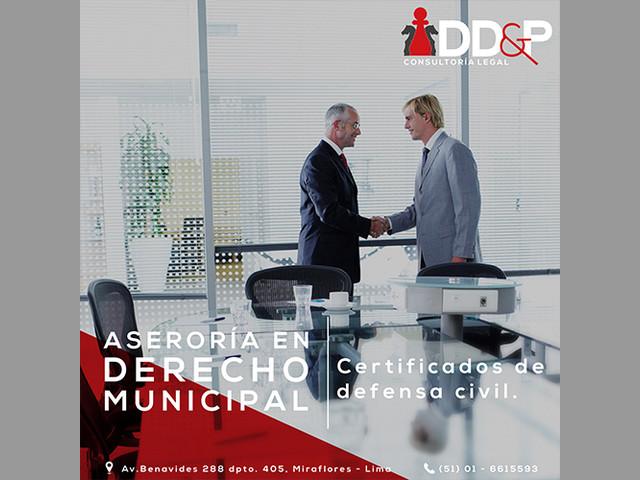 DD&P ASESORIA LEGAL - DERECHO MUNICIPAL Y ADMINISTRATIVO