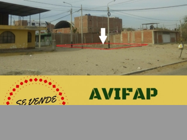 Amplio Terreno en Esquina - Urb. Jardines de Avifap (Piura)