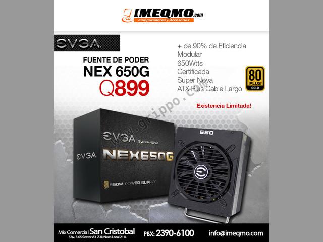Fuente de Poder NEX 650G